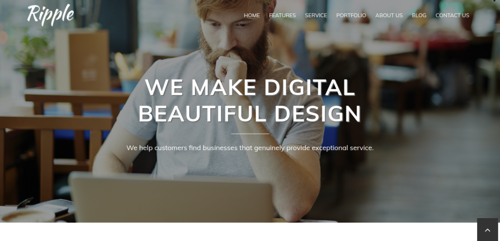 Ripple Free WordPress Theme - Innovware Blog